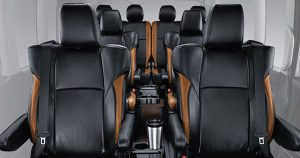 Interior Toyota Hiace Luxury Indonesia