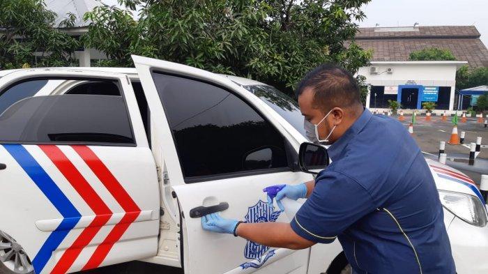 bersih mobil dari corona