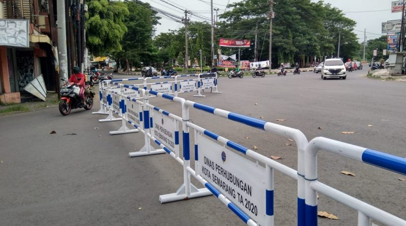 jalan semarang ditutup