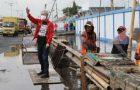 Banjir Rob Bikin Macet ke Semarang