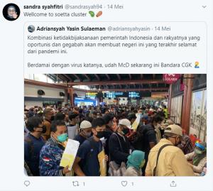 ungkapan nettizen indonesia tentang physical distancing