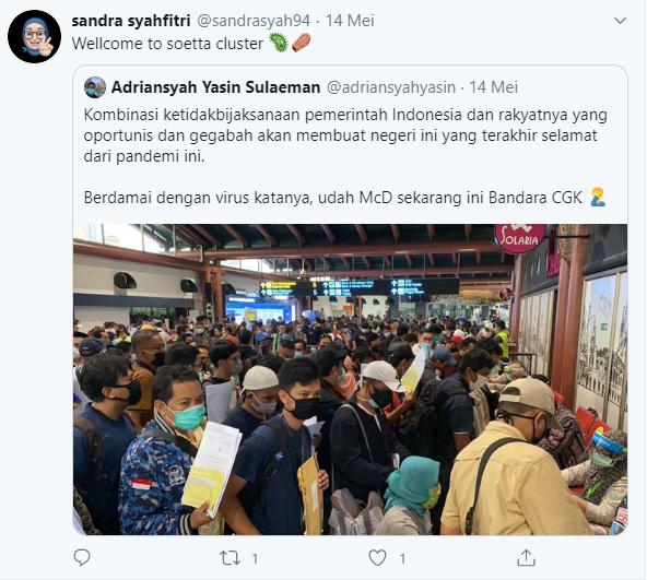 Viral Tagar Indonesia Terserah