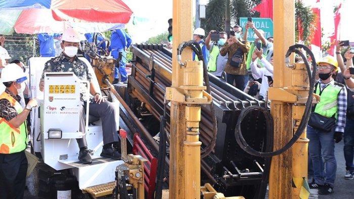 Pembangunan Kabel Bawah Tanah Kota Semarang