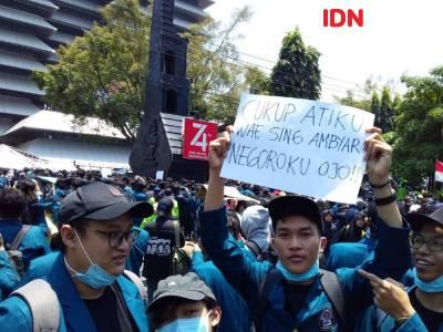 Demo Para Siswa Yang Berujung Ricuh di Semarang